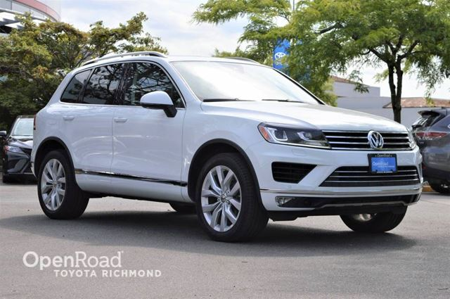 2016 VOLKSWAGEN Touareg Execline - Navigation, Push button start, Dual  in Richmond, British Columbia