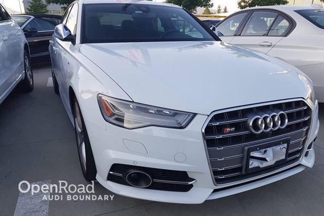 2016 AUDI S6 4dr Sdn quattro 7sp S tronic FINANCE FOR AS LOW in Vancouver, British Columbia