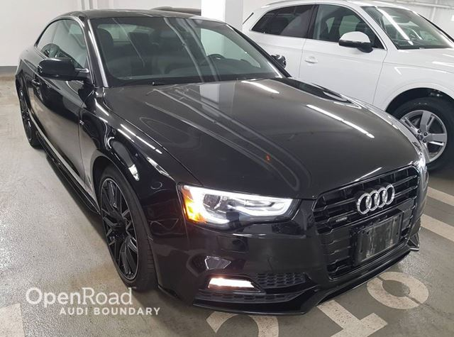 2017 AUDI A5 2dr Cpe Auto Technik S Line FINANCE FOR AS LOW  in Vancouver, British Columbia