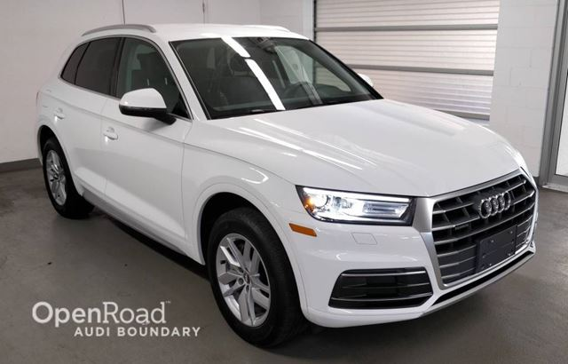 2018 AUDI Q5 2.0 TFSI quattro Komfort S tronic FINANCE FOR A in Vancouver, British Columbia