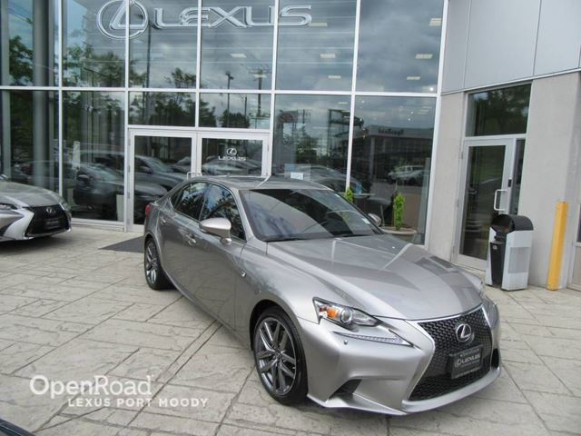 2015 LEXUS IS 250 F Sport 2 - Navigation - Back Up Camara - Blind in Port Moody, British Columbia