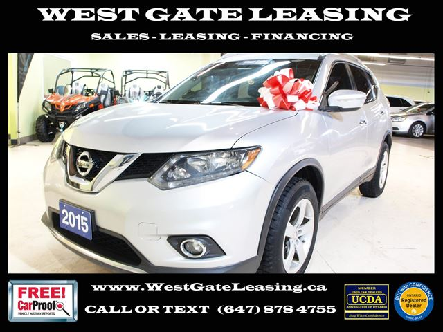 2015 NISSAN ROGUE  CAMERA  BLUETOOTH  CERTIFIED  in Vaughan, Ontario