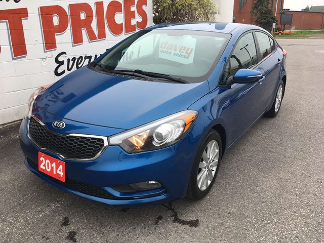 2014 Kia Forte 1.8L LX HEATED SEATS, BLUETOOTH, ALLOY WHEELS in Oshawa, Ontario