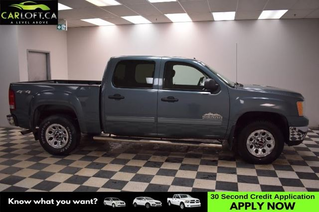 2012 GMC SIERRA 1500 SL Crew Cab 4x4-ALLOY RIMS * A/C * CRUISE in Kingston, Ontario