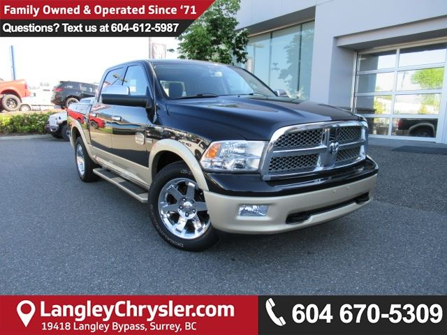 2011 DODGE RAM 1500 Laramie Longhorn in Surrey, British Columbia