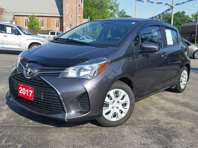 2017 Toyota Yaris LE,5- DR-HATCH,CAR IS NEW,ONLY 17000 KLM in Dunnville, Ontario