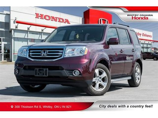 2015 HONDA PILOT EX-L w/RES in Whitby, Ontario