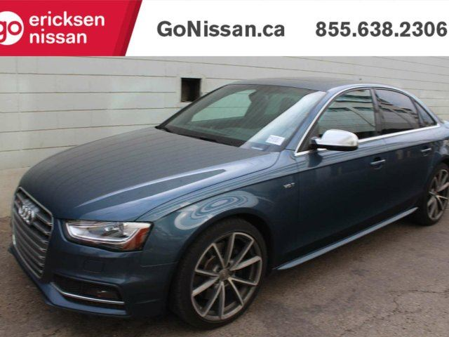 2015 AUDI S4 TECHNIK: NAVIGATION, LEATHER, SUNROOF! in Edmonton, Alberta