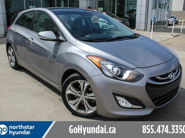 2013 HYUNDAI ELANTRA LEATHER/SUNROOF/HEATEDSEATS in Edmonton, Alberta