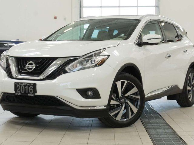 2016 NISSAN MURANO Platinum AWD in Kelowna, British Columbia