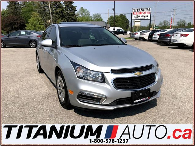 2016 CHEVROLET Cruze LT+Camera+Sunroof+Remote Start+My Link+XM Radio+++ in London, Ontario
