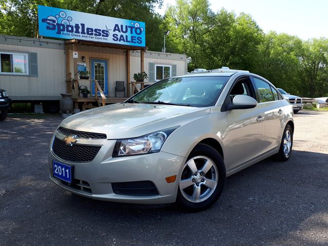 2011 CHEVROLET Cruze LT Turbo+ w/1SB in Whitby, Ontario