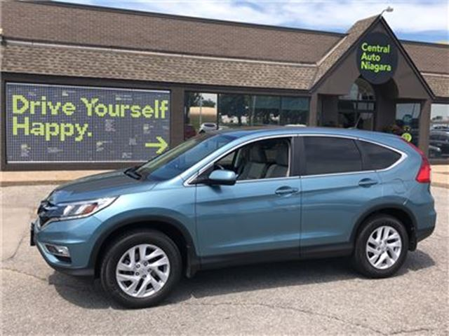 2015 HONDA CR-V EX-L / LEATHER / SUNROOF / AWD / HEATED SEATS in Fonthill, Ontario