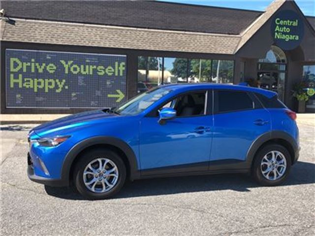 2016 MAZDA CX-3 GS / LEATHER / SUNROOF / HEATED SEATS in Fonthill, Ontario