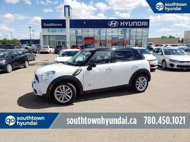 2014 MINI COOPER Countryman COOPER S ALL4/LEATHER/SUNROOF/HEATED SEATS in Edmonton, Alberta