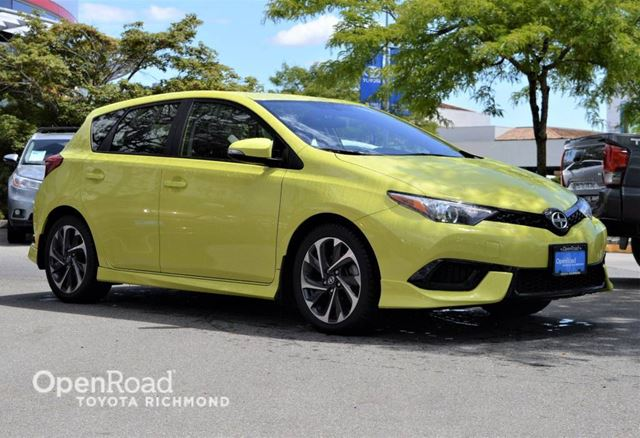 2016 SCION IM Back-up camera, A/C, Bluetooth, Cruise control, in Richmond, British Columbia