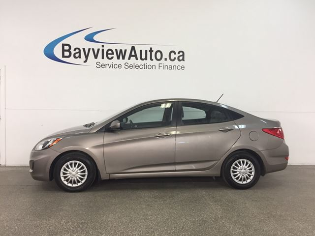 2014 HYUNDAI ACCENT L - KEYLESS ENTRY! HTD SEATS! A/C! BLUETOOTH! CRUISE! in Belleville, Ontario