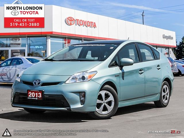 2013 TOYOTA PRIUS Base One Owner, No Accidents, Toyota Serviced in London, Ontario