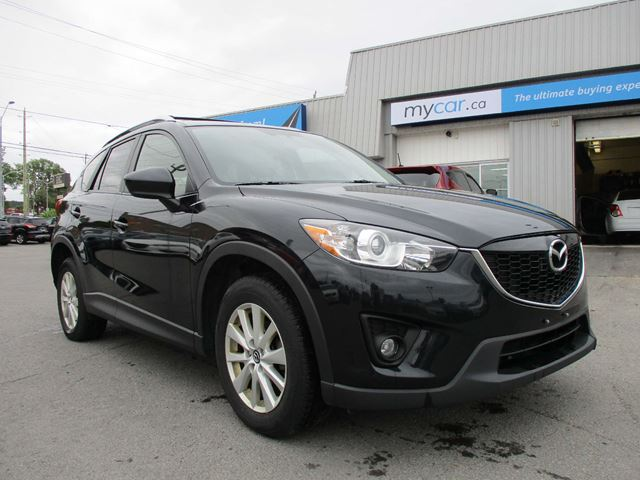 2013 MAZDA CX-5 GS GS AWD, SUNROOF, HEATED SEATS, BACKUP CAM in Kingston, Ontario