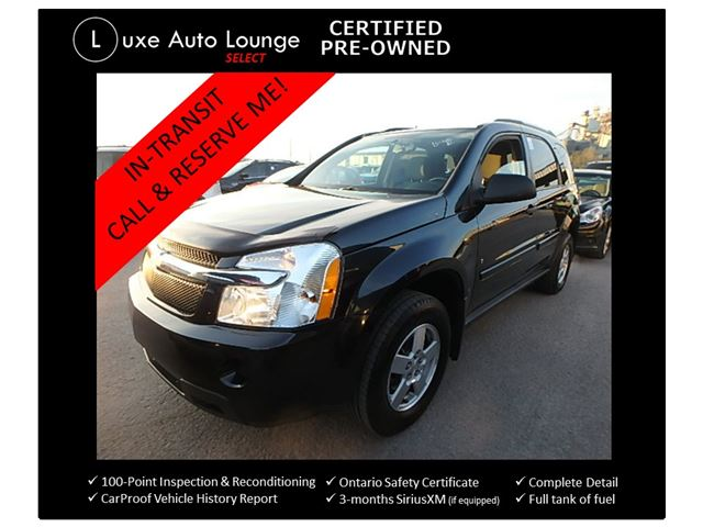 2009 Chevrolet Equinox LS SUPER CLEAN!! ONLY 88,000KM!! AUTO, A/C, POWER GROUP, CRUISE, KEYLESS ENTRY in Orleans, Ontario