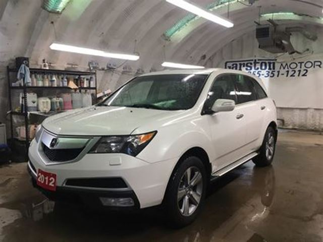 2012 ACURA MDX TECH PACK*NAVIGATION*LEATHER*POWER SUNROOF*REAR DV in Cambridge, Ontario