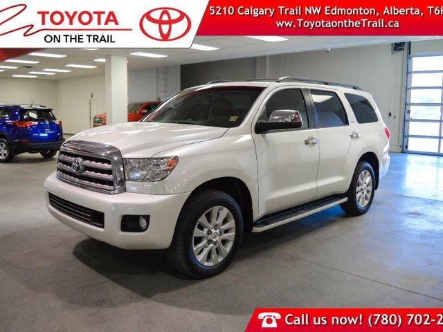 2015 TOYOTA Sequoia Platinum, Leather, Rear DVD, NAvigation, Heated and Cooled Seats, Sunroof, JBL, 5.7L V8 in Edmonton, Alberta