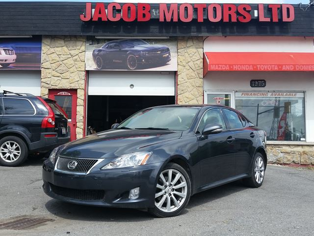 2010 LEXUS IS 250 AWD Navi in Ottawa, Ontario