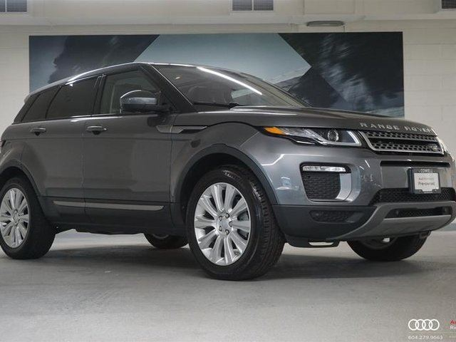 2017 LAND ROVER RANGE ROVER EVOQUE SE in Richmond, British Columbia