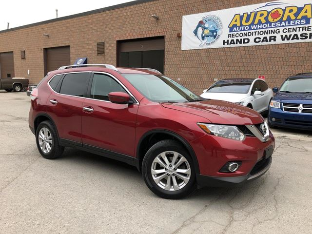 2016 NISSAN Rogue SV - AWD - BACK UP CAMERA - BLUETOOTH - 59K in Aurora, Ontario