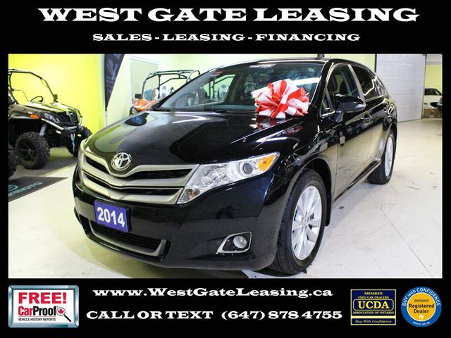 2014 TOYOTA Venza XLE AWD  LEATHER  CAMERA   in Vaughan, Ontario