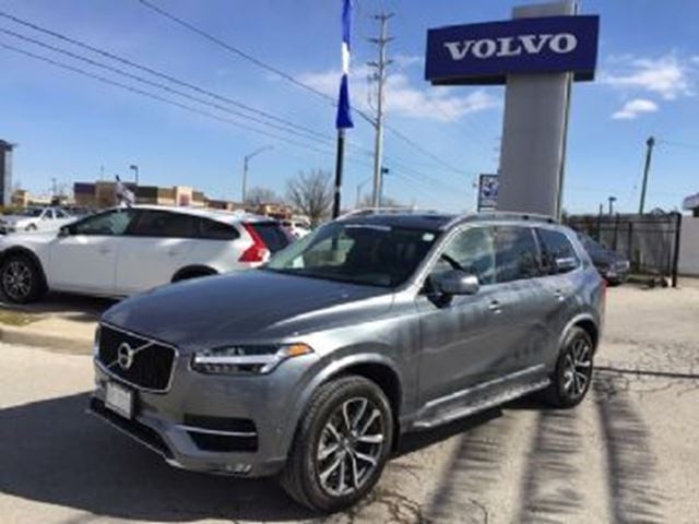 2017 VOLVO XC90 T6 AWD, Momentum 7 passenger, Convenience Pack in Mississauga, Ontario