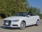 2015 Audi A3 2.0 TFSI Technik Cabriolet, S Line in Mississauga, Ontario