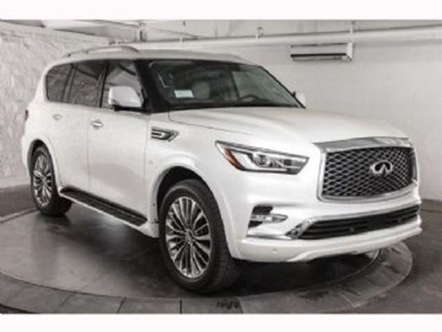 2018 INFINITI QX80 7 Passager Technologie/Technology Package in Mississauga, Ontario