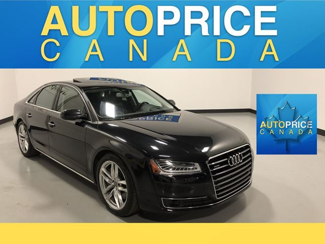 2015 AUDI A8 4.0T 4.0T|LEATHER|AWD|AND MORE in Mississauga, Ontario