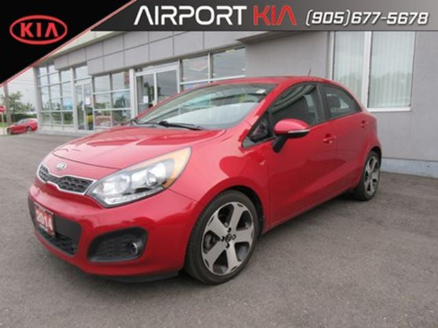 2014 KIA Rio SX w/Navigation/Leather/Sunroof/Camera in Mississauga, Ontario
