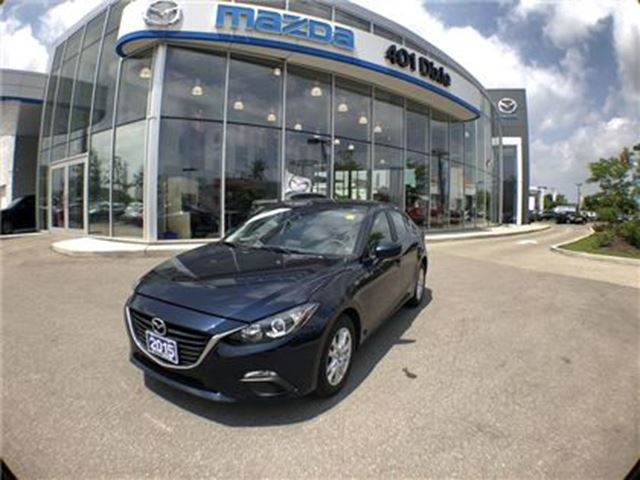 2015 MAZDA MAZDA3 GS, ONE OWNER,NO ACCIDENTS,1.9%AVAILABLE in Mississauga, Ontario