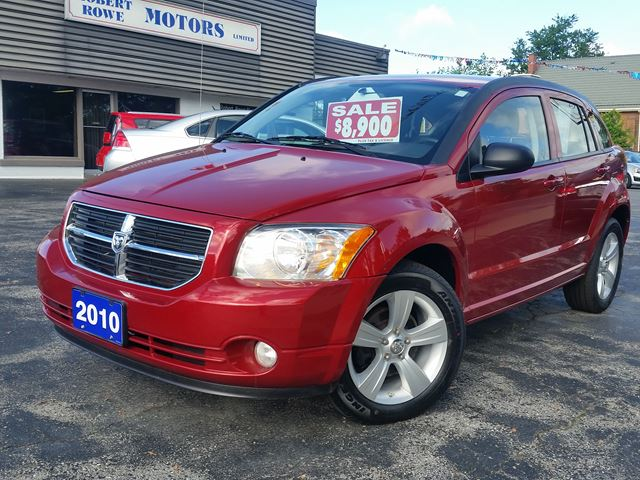 2010 Dodge Caliber LEATHER,POWER SEAT,ALLOYS,0NE OWNER TRADE in Dunnville, Ontario