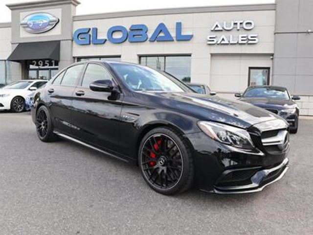 "2017 MERCEDES-BENZ C-Class ""SOLD"" SOLD"" AMG S ONLY 420 KM. 510 in Ottawa, Ontario"