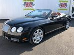 2008 Bentley Continental Navigation, Leather, Convertible, Only 10,000km in Burlington, Ontario