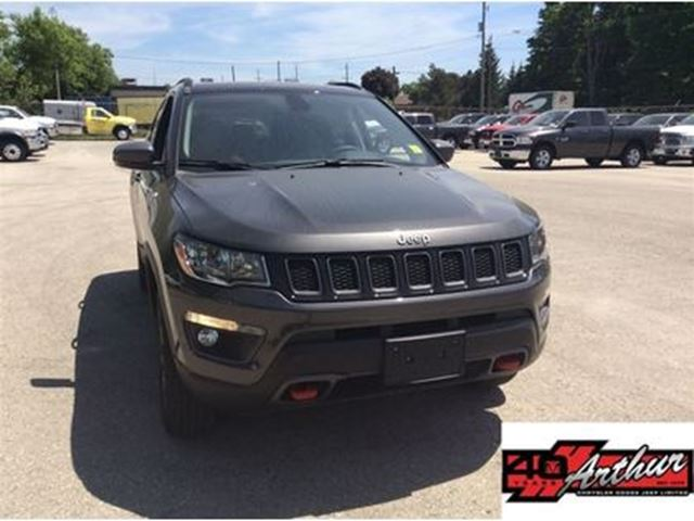 2017 JEEP Compass Trailhawk Power Lift Gate.Previous Daily Rental in Arthur, Ontario