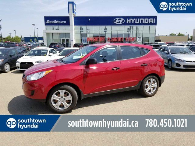 2012 HYUNDAI Tucson ACCIDENT FREE/POWER OPTIONS/MANUAL TRANS. in Edmonton, Alberta