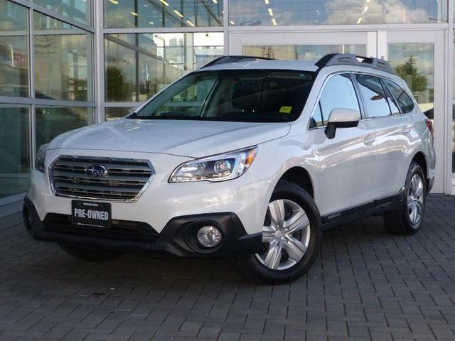 2016 SUBARU OUTBACK 2.5i at in Vancouver, British Columbia