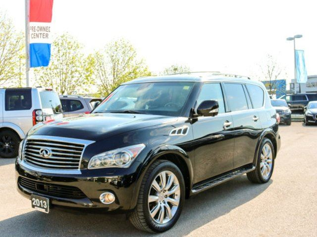 2013 INFINITI QX56 7-pass *WITH THE DVD SYSTEM* *LOCAL* in Winnipeg, Manitoba