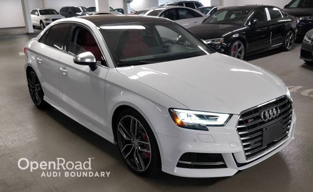 2017 AUDI S3 4dr Sdn quattro 2.0T Technik FINANCE FOR AS LOW in Vancouver, British Columbia