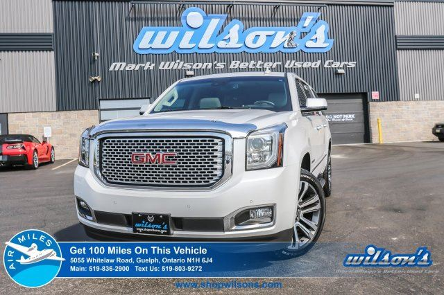 2017 GMC YUKON XL DENALI   GM`S VEHICLE   CLEAN CAR PROOF   FULLY LOADED   NAV   LEATHER   SUNROOF   REAR CAM in Guelph, Ontario