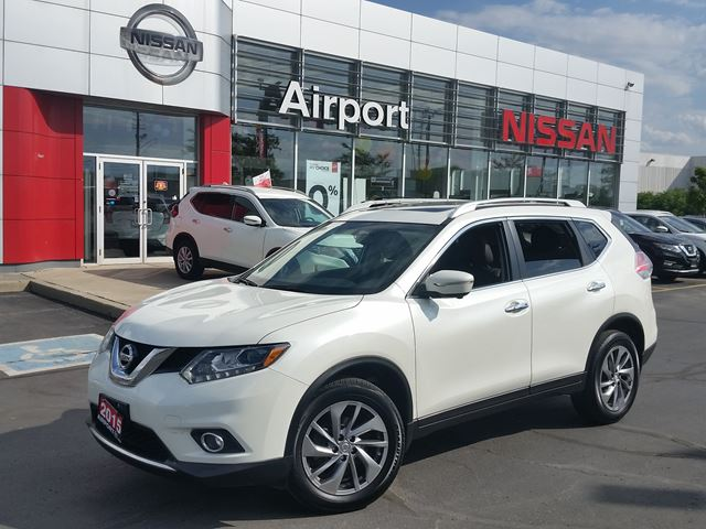 2015 NISSAN Rogue SL LOADED,LEATHER,ROOF,NAVI,ALLOY,BOSE MUSIC SYSTEM in Brampton, Ontario