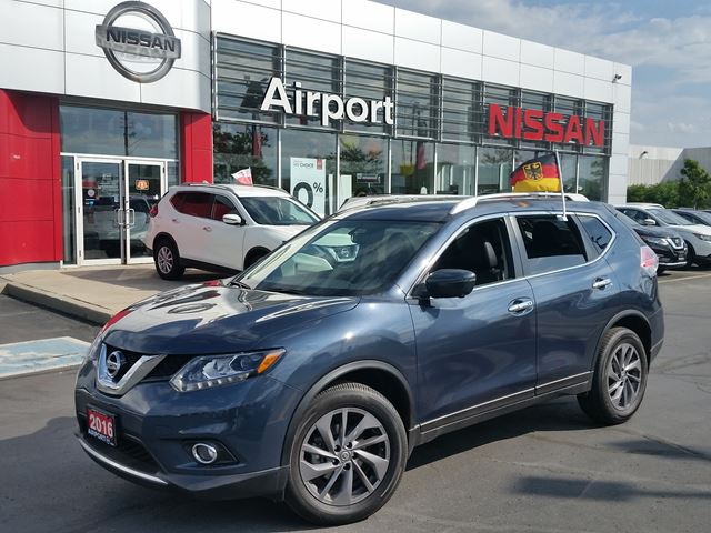 2016 NISSAN Rogue SL LOADED,LEATHER,NAVI,ROOF,ALLOY,BOSE MUSIC SYSTEM in Brampton, Ontario