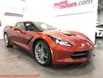 2015 Chevrolet Corvette Navigation Nappa Auto 3LT Daytona Sunrise Orange in St George Brant, Ontario
