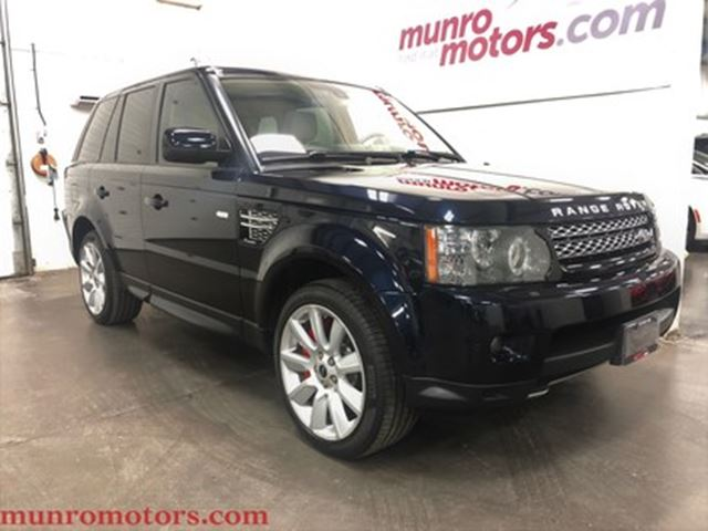 2012 LAND ROVER RANGE ROVER Sport Supercharged Buckingham Blue 510 HP in St George Brant, Ontario