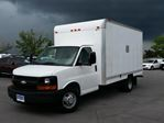 2012 Chevrolet Express Commercial Cutaway 14' CUBE/BOX/STAKE TRUCK in Belleville, Ontario